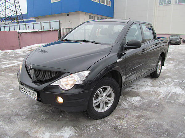 Ssang Yong Actyon Sports 2008 г
